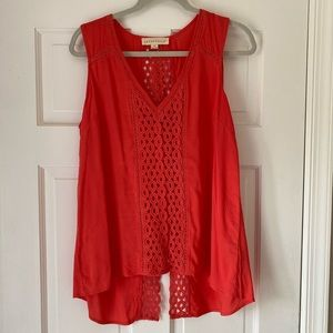 Boutique Tank in Coral!